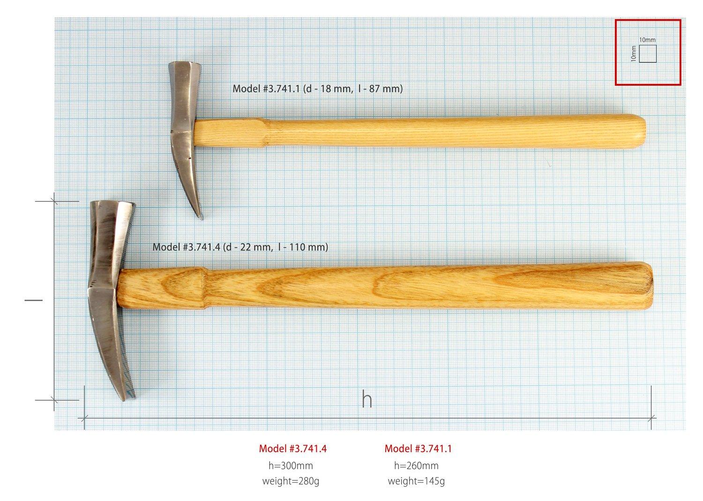 New Vergez Blanchard Saddler Leather Hammer (size 4) by Vergez Blanchard (Image #8)