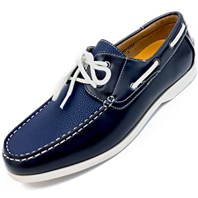 Easy Strider Men's Original Iconic Casual Boat Shoe - Perfect Comfortable for Every Day Fashion Classic Style -Making You Easier to Walk with Comfortable Microsuede Lining | Loafers & Slip-Ons