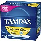Tampax丹碧丝Cardboard Applicator卫生棉条  用于正常流量 54 张 (2 包)