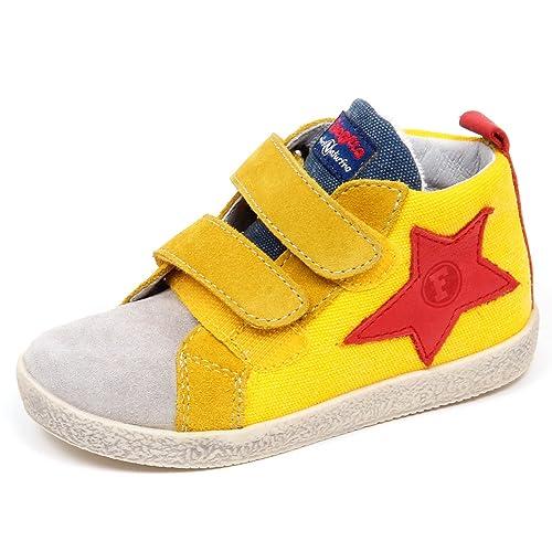 Naturino E3474 Sneaker Bimbo Giallo Falcotto by Scarpe Shoe Kid Baby Boy   19   Amazon.it  Scarpe e borse 406c51a1df0