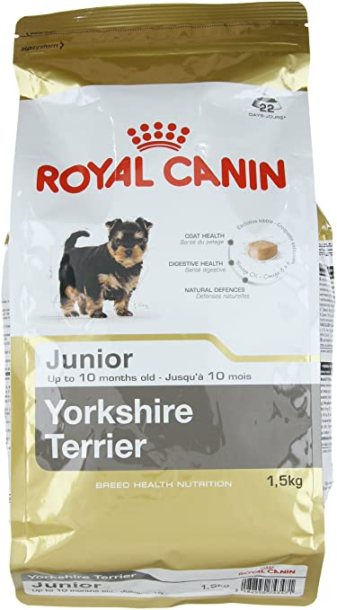 Royal Canin Yorkshire Terrier Junior Dog Food 1 5kg Amazon Com
