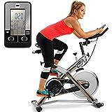 BH Fitness MKT JET BIKE PRO H9162RF bicicleta ciclismo indoor. Volante inercia 22 Kg. Cuadro de acero muy robusto. Máxima estabilidad al entrenar de pie.