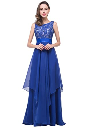 2018 Newest Long Floor-Length Tulle Elegant Party Prom Dress(Customizable ) (S