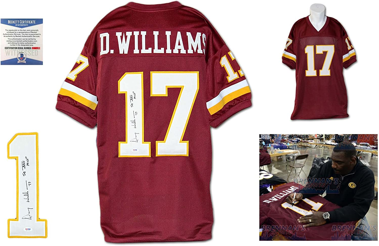Doug Williams Autographed SIGNED Jersey