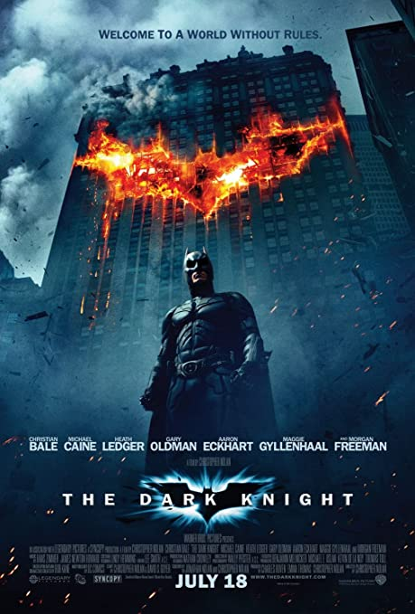 Image result for The Dark Knight movie poster
