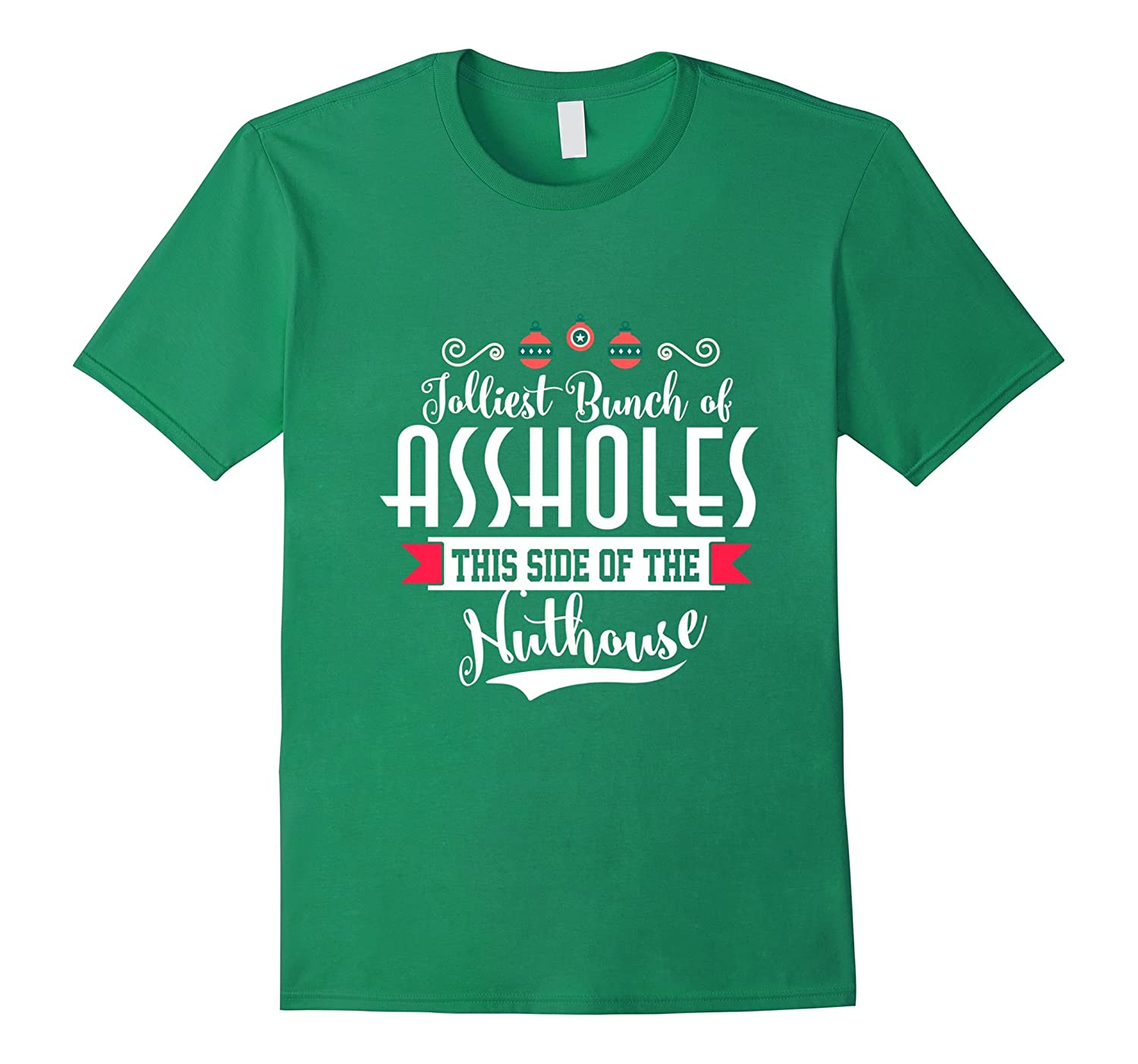 Christmas Vacation Quotes Jolliest Bunch Of: Jolliest Bunch Of A-holes Funny Christmas Quote Holiday