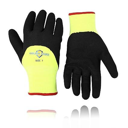 Amazon.com: Golden Scute 2 pares de guantes para congelador ...