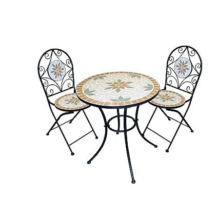 Incredible Amazon Com Alpine Outdoor Patio Coffee Table Mosaic Bistro Spiritservingveterans Wood Chair Design Ideas Spiritservingveteransorg