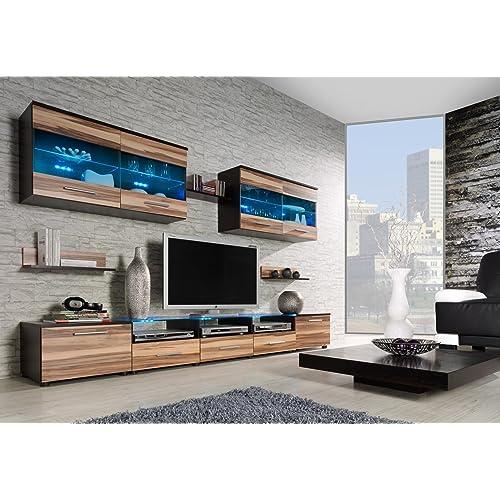 CAMA I   Modern HIGH GLOSS / MATT WALL Entertainment UNIT TV Stand Cabinet  FLOOR /