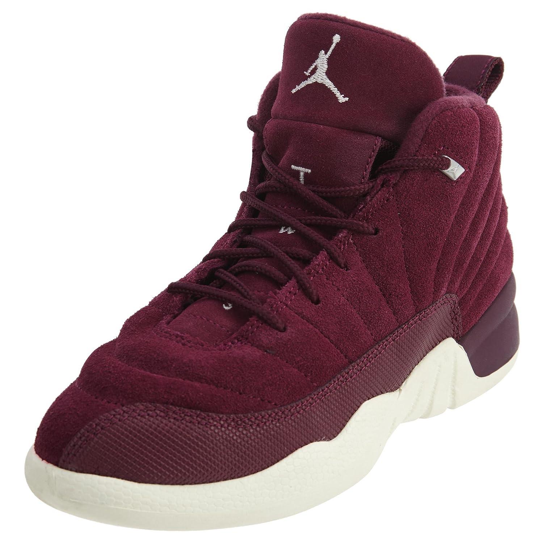 cheap for discount 34fde e6f36 Jordan Retro 12 Basketball Boy's Shoes Size