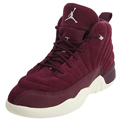 cheap for discount 5dd67 ec968 Jordan Retro 12 Basketball Boy's Shoes Size