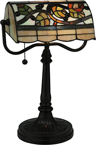 Vineyard Bankers Table Lamp