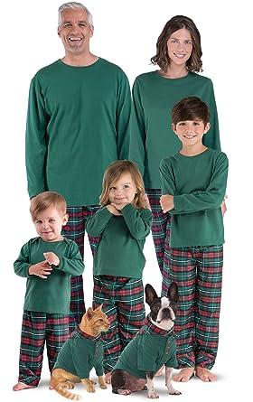 pajamagram plaid flannel matching family pajamas women x small 2 4