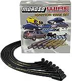 Moroso 9867M Mag-Tune Spark Plug Wires Chevy Small Block Under Header HEI 90 Deg SBC