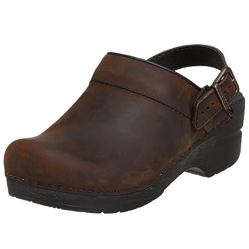 e9dd6174bed Dansko Women s Ingrid Oiled Leather Clog  Amazon.ca  Shoes   Handbags
