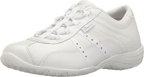 Skechers Sport Women/'s Unity-Pure Bliss Fashion Sneaker,White,7 M US