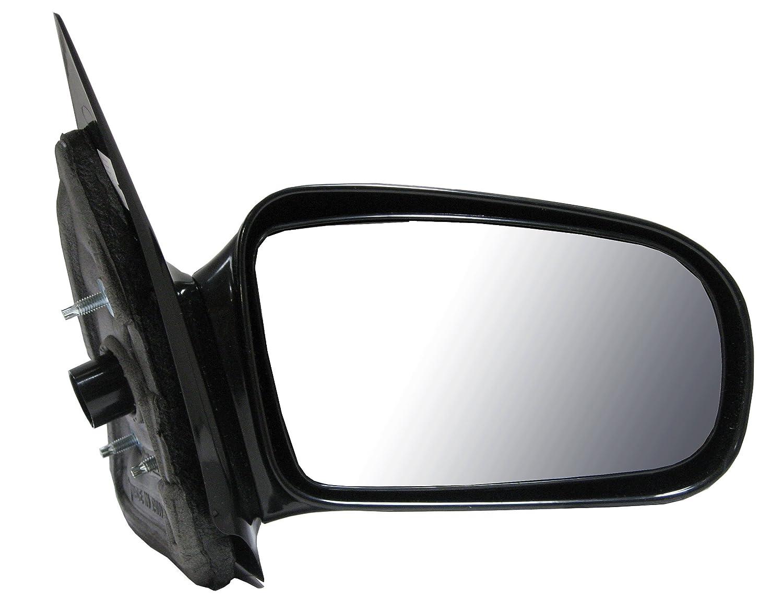 Black Manual Mirror RH Right Passenger for 95-05 Cavalier Sunfire 2 Door Coupe