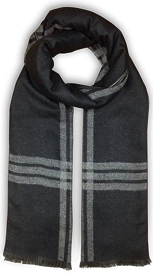 39a0d7c4e3bb6 Bleu Nero Luxurious Winter Scarf Premium Cashmere Feel Unique Design  Selection