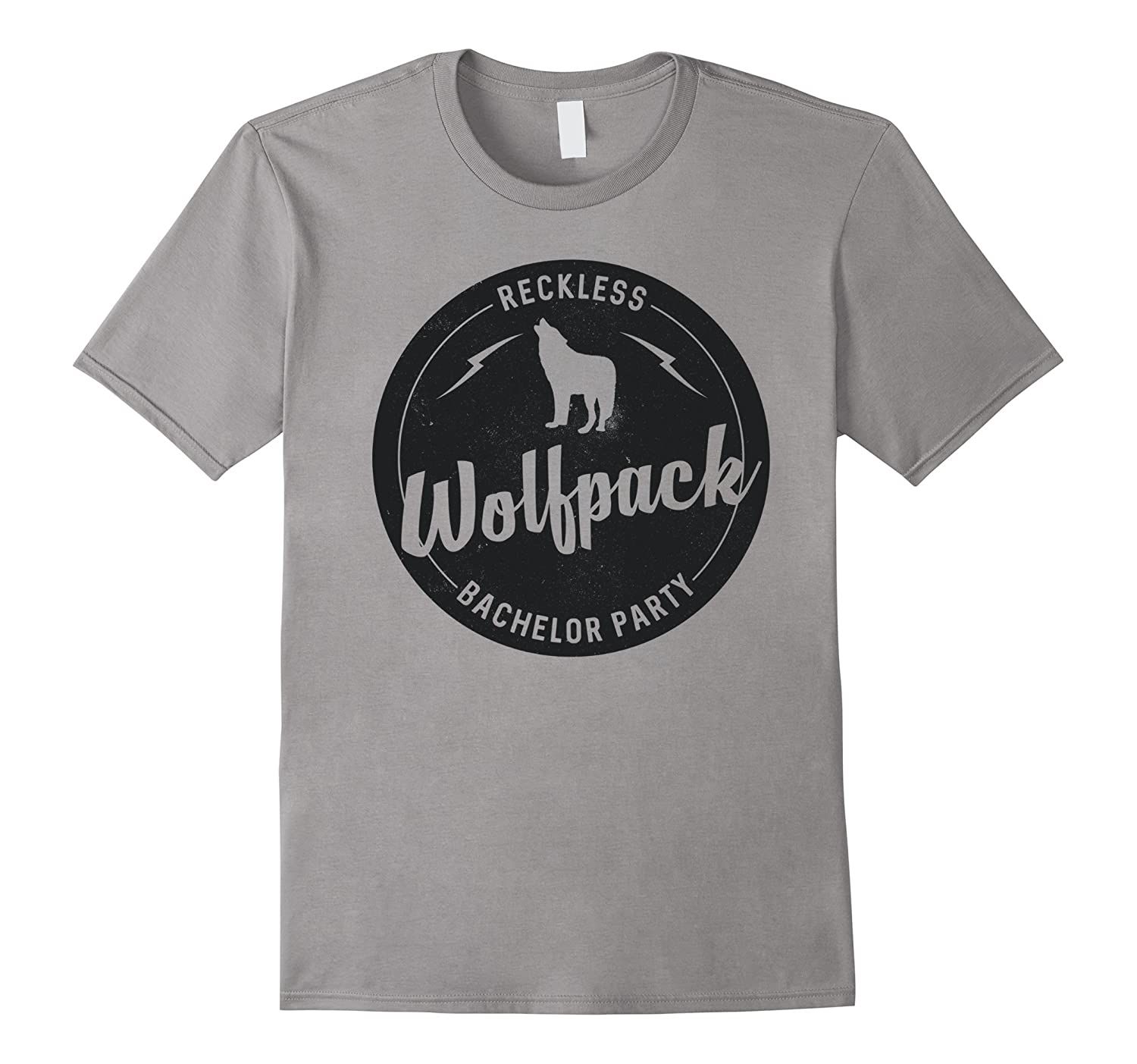 Reckless, wolfpack, bachelor party, cool t-shirt-CL