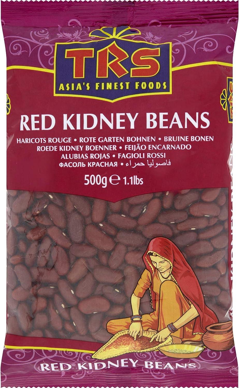 TRS Red Kidney Beans 500g alubias rojas riñón: Amazon.es ...