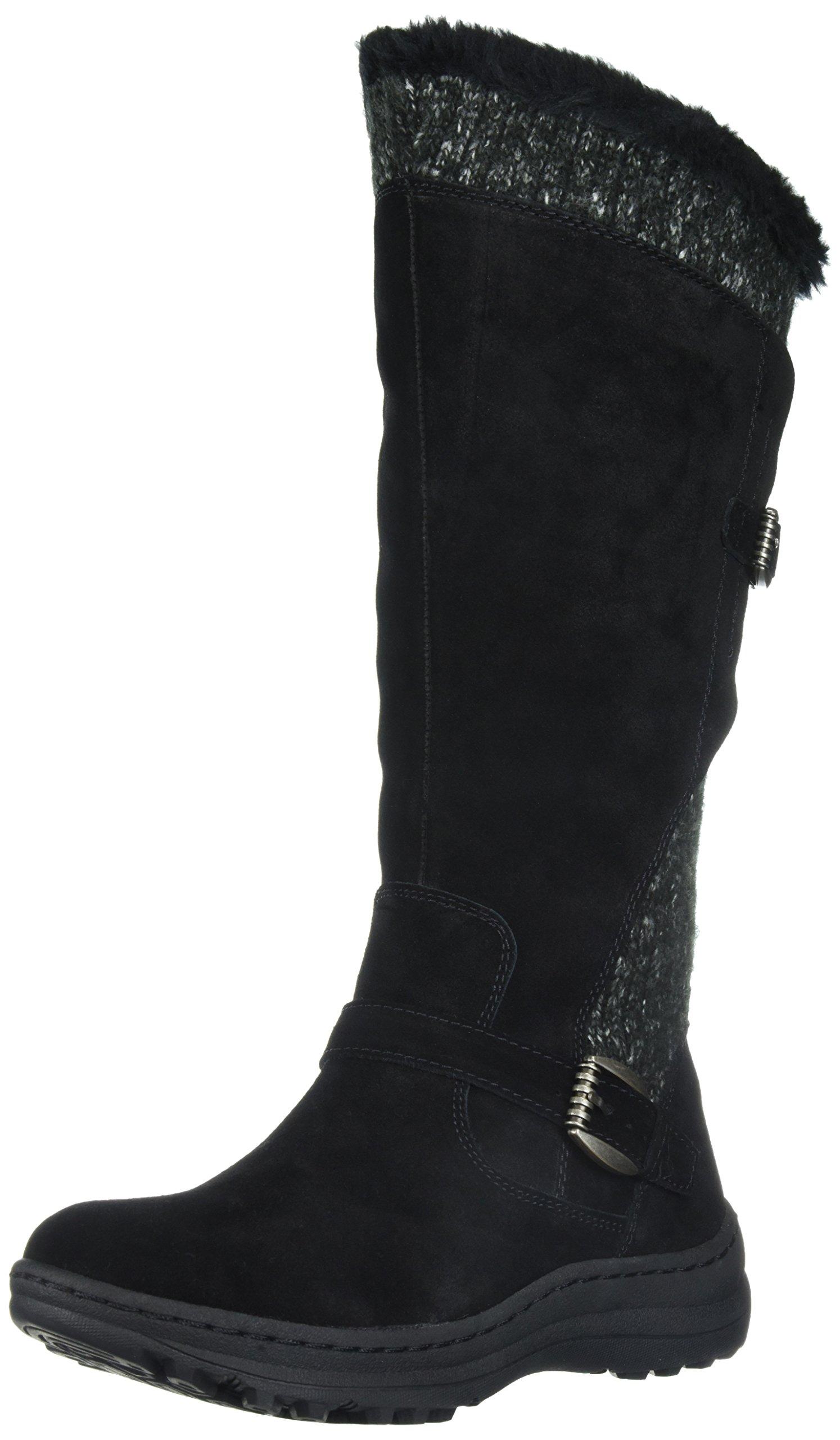 BareTraps Women's Alira Snow Boot,Black,7.5 M US