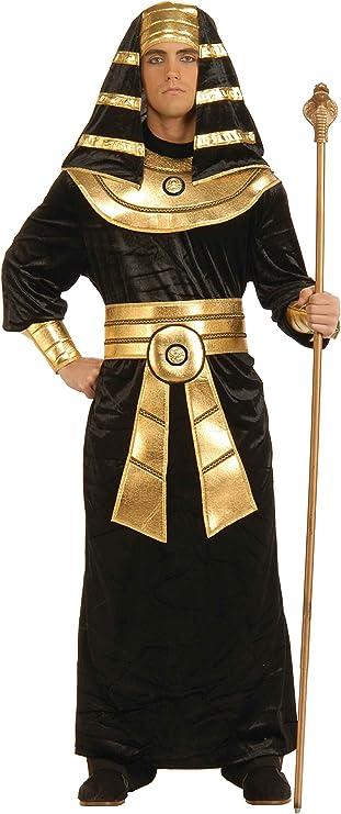 Forum Novelties Men's Adult Egyptian Pharaoh Costume, Black/Gold, XL