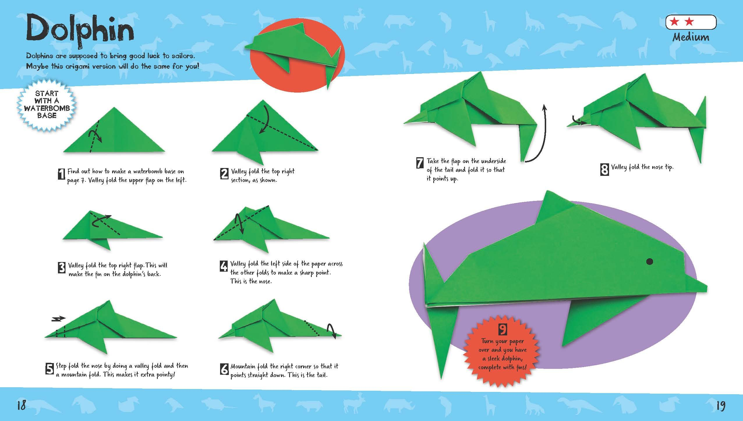 Learn How To Make Mountain Fold and Valley Fold | Origami For Kids ... | 1446x2552