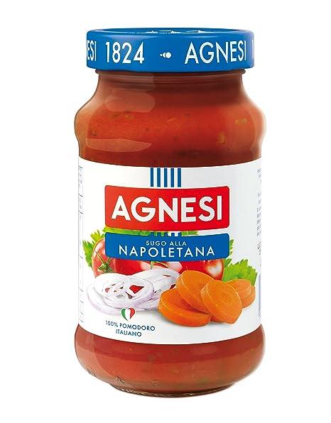 Agnesi Salsa para Pasta Napolitana - 645 gr