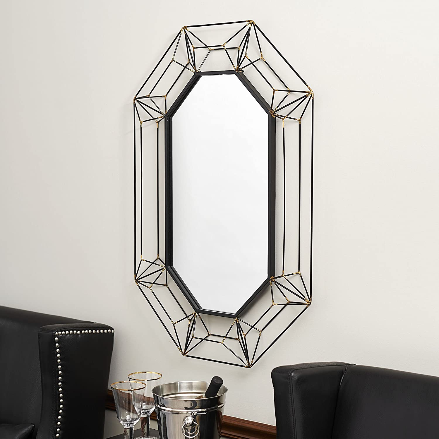 Amazon.com: Household Essentials Large Decorative Wire Frame Wall ...