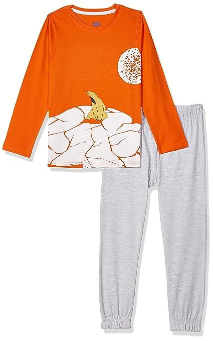 [Size 5-6 yr] Amazon Brand - Jam & Honey Boys Pyjama Set