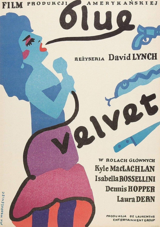 72460 Blue Velvet Movie 1986 David Lynch Dennis Hopper Decor Wall 24x18 Poster Print