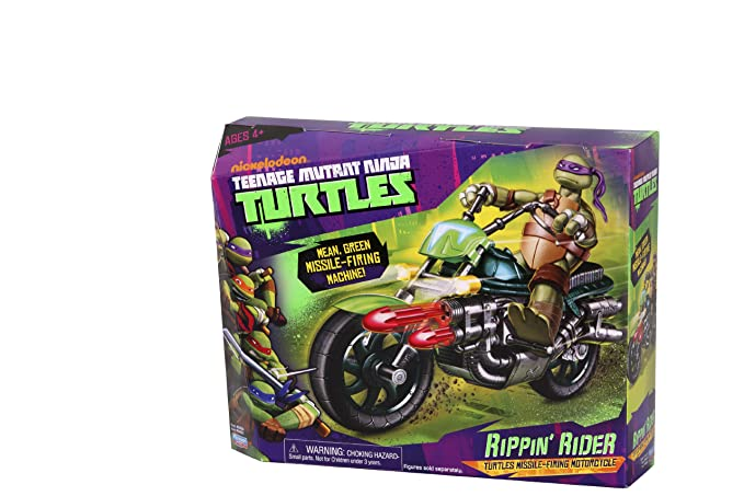 Amazon.com: Teenage Mutant Ninja Turtles Rippin Rider: Toys ...