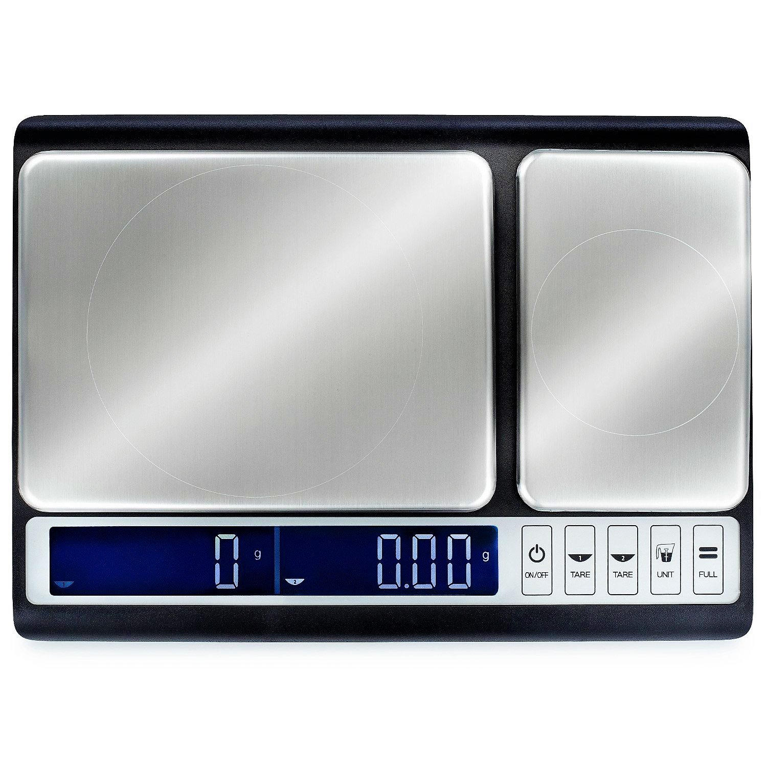 Smart Weigh Culinary Kitchen Scale 10 kilograms x 0.01 grams, Digital Food Scale with Dual Weight Platforms for Baking, Cooking, Food, and Ingredients by Smart Weigh