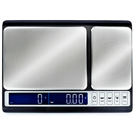 Smart Weigh Culinary Kitchen Scale 10 Kilograms X 0 01 Grams Digital Food Scale With Dual Weight Platforms For Baking Cooking Food And Ingredients