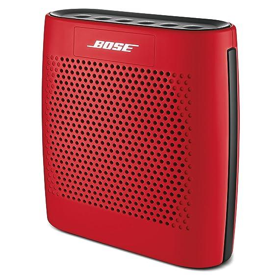 amazon com bose soundlink color bluetooth speaker red home audio rh amazon com bose soundlink mini user manual Bose SoundLink Bluetooth Speaker