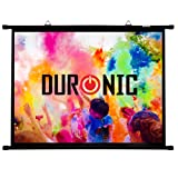 """Duronic BPS80/43 Simple Bar Wall Mountable HD Projection Screen for 