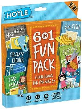 Set de 6 juegos de cartas para niños: Amazon.es: Juguetes y ...
