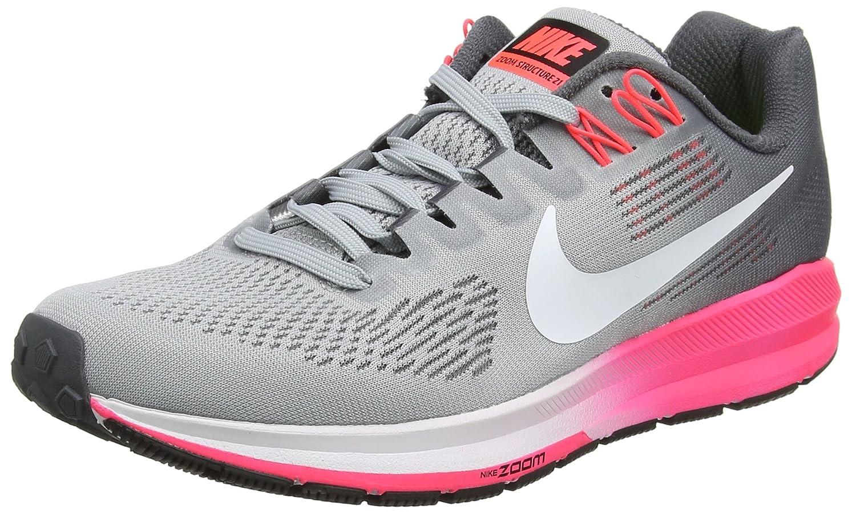 NIKE Women's Air Zoom Structure 21 Running Shoe B075XCNQPC 6.5 B(M) US|Grey