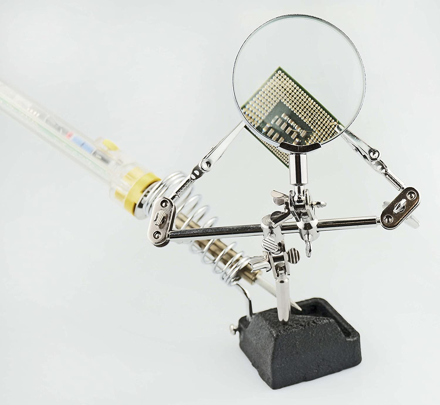MZ109 SE Soldering Station with Helping Hand 4x Magnification