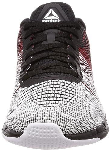 972b3d5ee47f56 Reebok Men s Fast Flexweave Running Shoes Black  Amazon.co.uk  Shoes   Bags