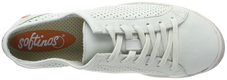Softinos Damen Ica388sof Grün) Washed Sneaker Grün (Pastel Grün) Ica388sof f14bcb