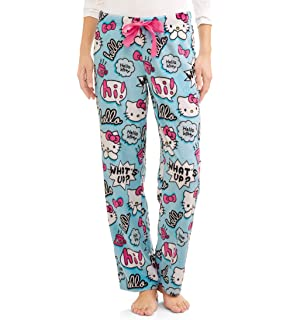 40ffcd1f9 Amazon.com: Hello Kitty Womens Halloween Minky Fleece Sleep Lounge ...