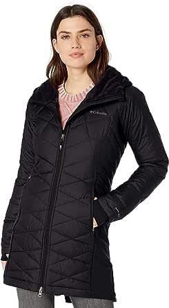 Columbia Women's Heavenly Long Hybrid Winter Jacket, Water Repellent, Down Style