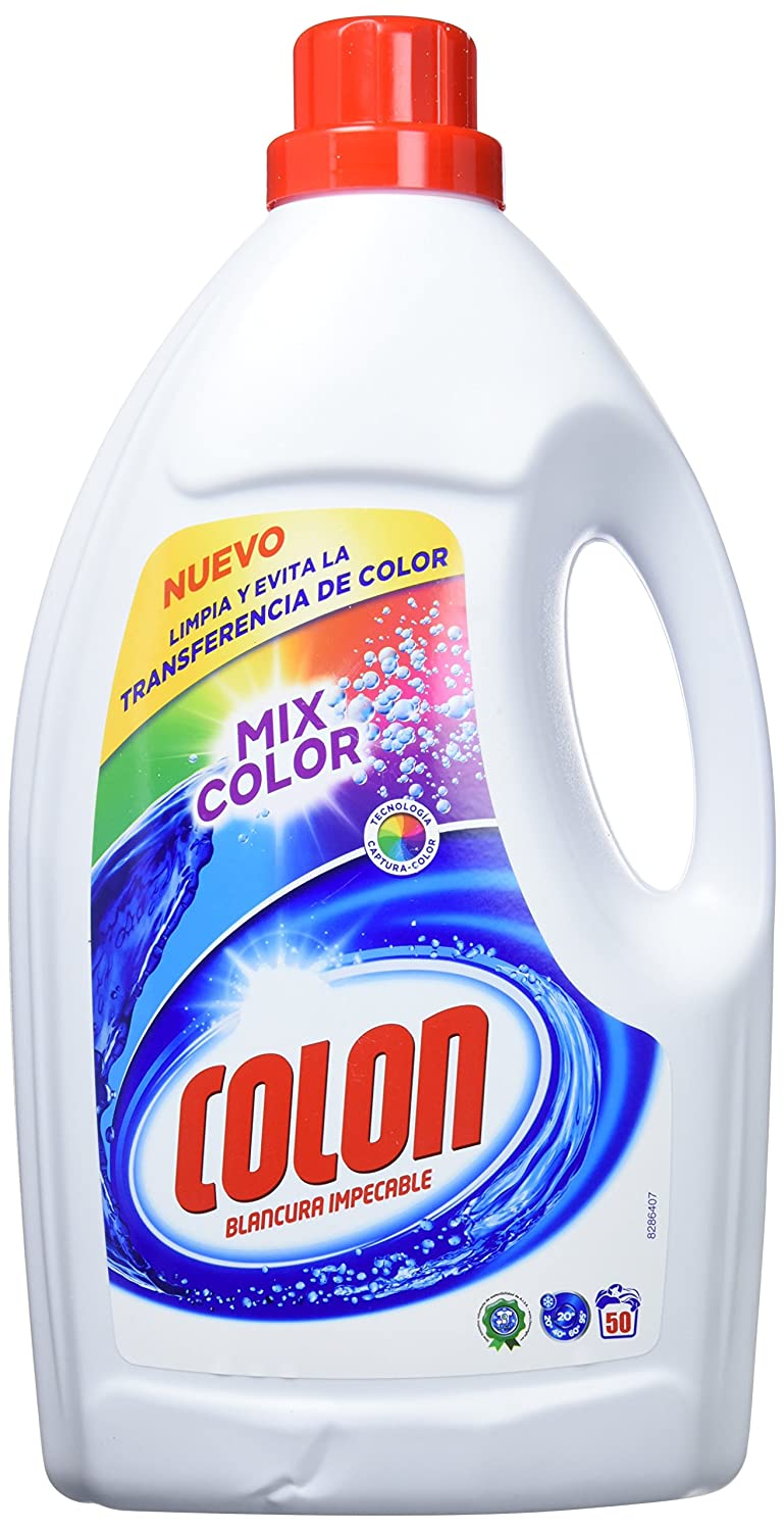 Colon Detergente Mixcolors 50 dosis