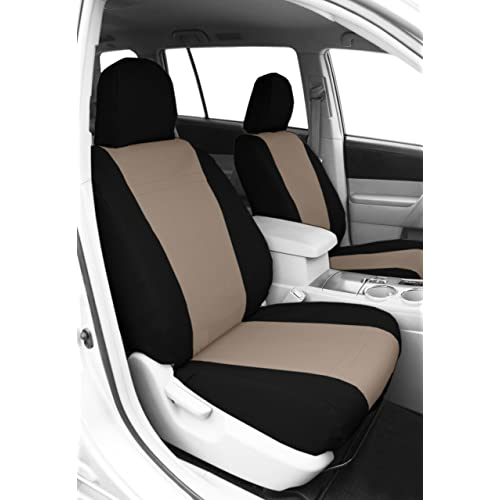 CalTrend Front Row Bucket Custom Fit Seat Cover For Select Subaru Impreza XV Crosstrek Models