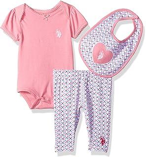 Kushies Baby Girls Mix N Match Unionsuit Lt Pink Heart