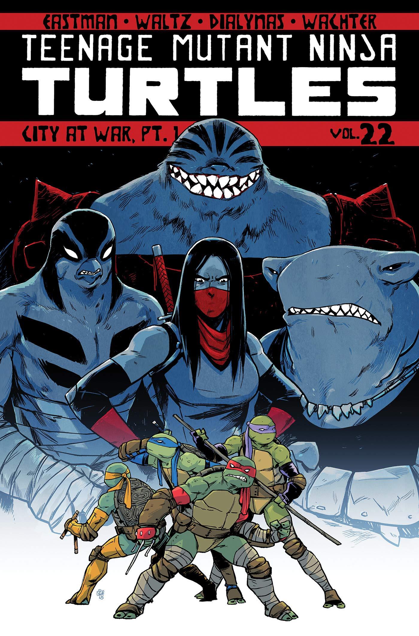 Teenage Mutant Ninja Turtles Volume 22: City At War, Pt. 1 ...