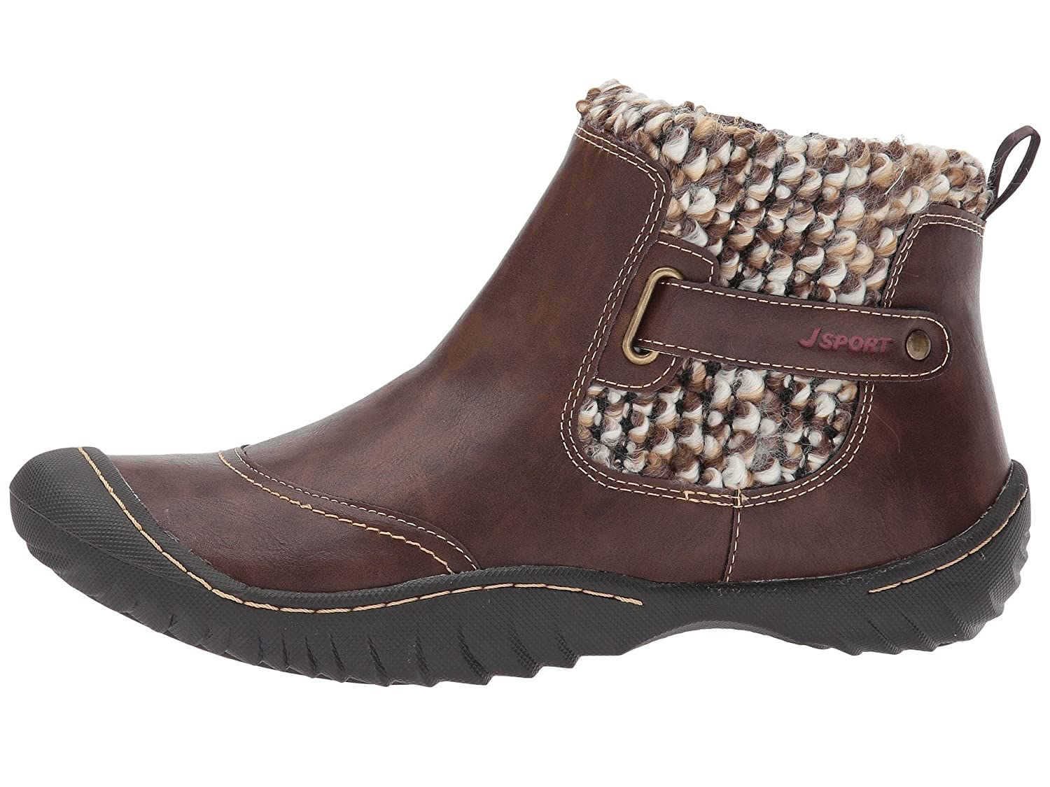 1ad22390044b JBU by Jambu JSport by Jambu Women s Darcie Boot Brown 7.5  Buy Online at  Low Prices in India - Amazon.in