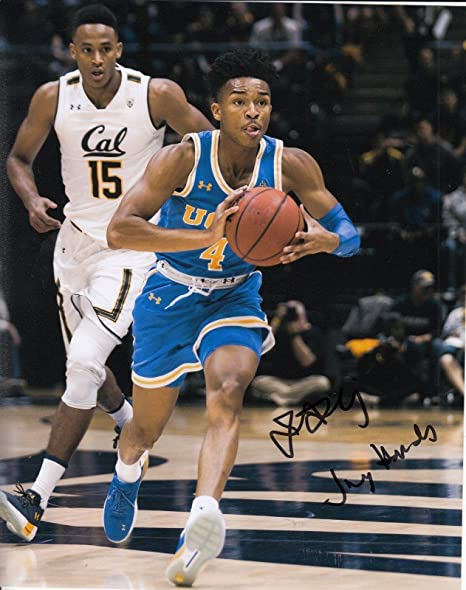 best sneakers 7ab10 310bf JAYLEN HANDS signed (UCLA BRUINS) basketball 8X10 *NBA DRAFT ...