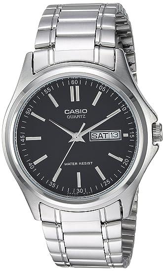 Casio MTP1239D-1A - Reloj de Pulsera Adultos, Acero Inoxidable
